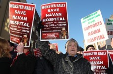 Thousands expected to take to the streets in support of Navan Hospital