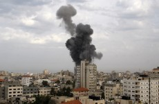 Israel strikes destroy Hamas government headquarters
