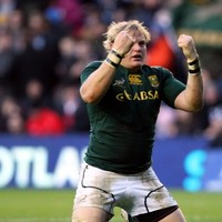 Strauss double ensures another Springbok win