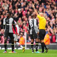 'Devastated' Adebayor says sorry for derby red