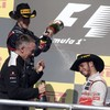 US Grand Prix: Hamilton gate-crashes Vettel's title party