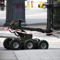 Army make safe viable device found beside a car in Dublin