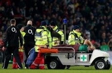 Connacht blow as Muldoon damages knee ligaments