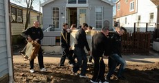 In pictures: All-Stars visit Breezy Point in wake of Superstorm Sandy