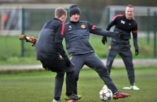 Rooney and de Gea train ahead of 'dead' tie in Turkey