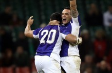 Samoa shock moves Ireland up to seventh