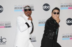 Stop.... Gangnam time! MC Hammer and Psy duet