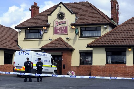 The Fassaugh House Pub in Cabra where Dunne was shot dead in April 2010.
