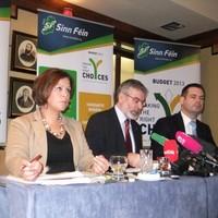 """Sinn Féin launches alternative budget, say """"Government still have choices"""""""