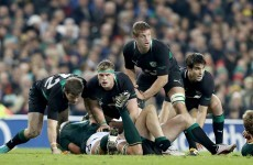 November tests: Sexton misses training but back row set to stay intact