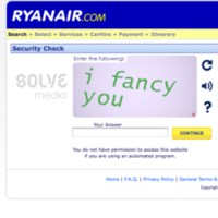 Ryanair comes onto customers via website