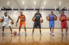 VIDEO: The NBA's latest ad has basketball stars dribbling to the beat of a Christmas song