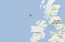 Minor earthquake recorded off Irish coast