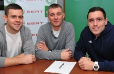 Shamrock Rovers complete deals for Stephen Rice and Shane Robinson