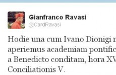 Vatican launches new Latin-teaching academy... with a tweet