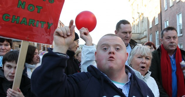 In pics: March on the Dáil for disability access