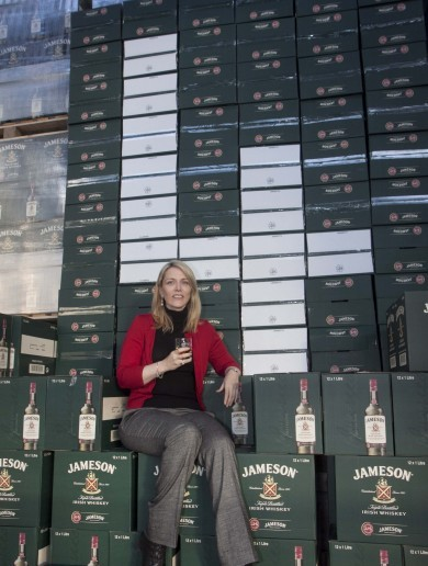 Forty-eight million bottles of Jameson being sold every year