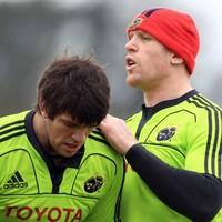 Heineken Cup team news: O'Connell, Ferris and O'Brien in