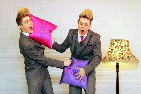 This may be what Jedward imagine a vajazzling to be.