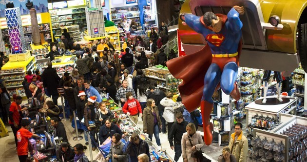 Pictures: Frenzied bargain shoppers hit US stores on Black Thursday/Friday