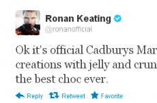 Tweet Sweeper: Ronan Keating makes the tough decisions