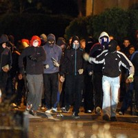 Teen arrested for petrol bomb offence during nationalist parade disorder