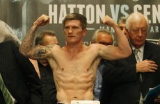 Return of the Hitman: Troubled Hatton steps back into the ring