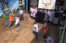 VIDEO: Kenyan orphans re-enact Larry Bird's steal