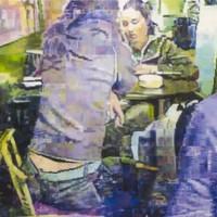 Irishman makes art from terrible Facebook photos