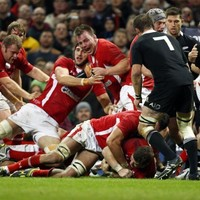 VIDEO: Wales use 13-man lineout to score against All Blacks