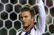 Wheeler dealer? Redknapp ponders Beckham swoop