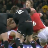 VIDEO: All Blacks sweat over Hore suspension after forearm smash on Davies