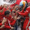 Sore losers? Ferrari bitter over Vettel's sweet success