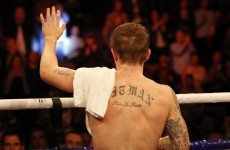 In defeat, Hatton finally finds peace