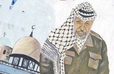 Experts exhume remains of Yasser Arafat