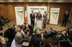 Opposition parties react to Cowen's announcement