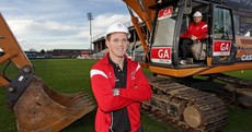 Back to the day job: Craig Gilroy digs in for Ravenhill revamp