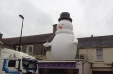 Snowman abducted in Wicklow
