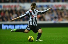 Cabaye set for lengthy spell on sidelines