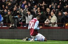 Benteke header earns Villa narrow victory over Reading