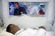 Puerto Ricans say goodbye to 'Macho' Camacho