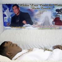 Puerto Ricans say goodbye to 'Macho' Camacho