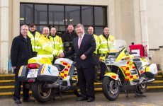 Blood Bikers zoom in to help patients in the West