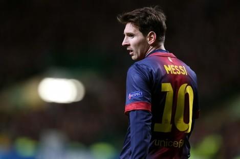 Lionel Messi, Barcelona.