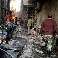 Car bombs rip through Damascus killing 34