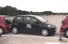 VIDEO: How's this for parallel parking?