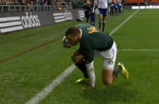 VIDEO: Bryan Habana wins IRPA try of the year award