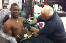 'I am the punishment of God': here's Mario Balotelli's new Genghis Khan tattoo