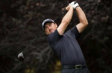 McDowell 2 shots off the lead in California