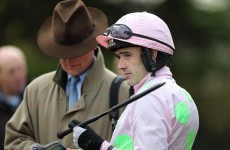 Walsh falls at Newbury but expected to be fit for Saturday
